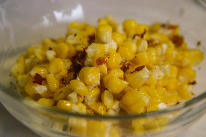 Kukurica s mäkkým syrom
