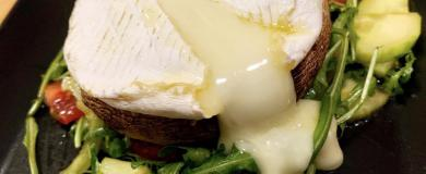 Pečené portobello s camembertom
