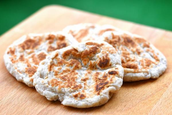 Low carb naan chlieb