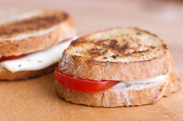 Margherita sandwich