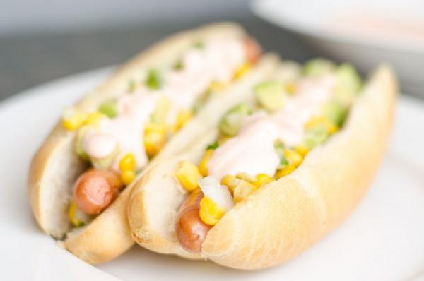 Mexický hot dog