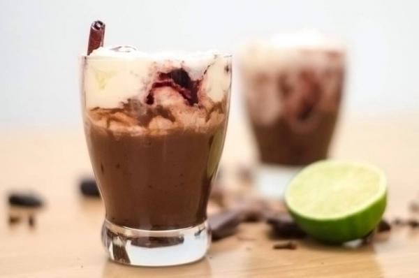 Vianočné čokoládovo-slivkové potešenie (lepidlo)