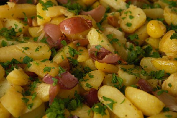 Cibuľkové zemiaky