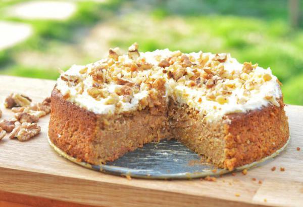 Mrkvová torta s mascarpone
