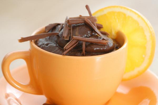 Avokádovo-čokoládová pena
