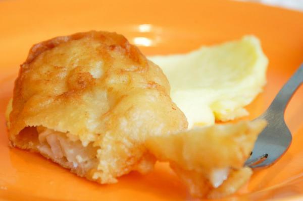 Ryba v pivnom cestíčku s gréckou kašou